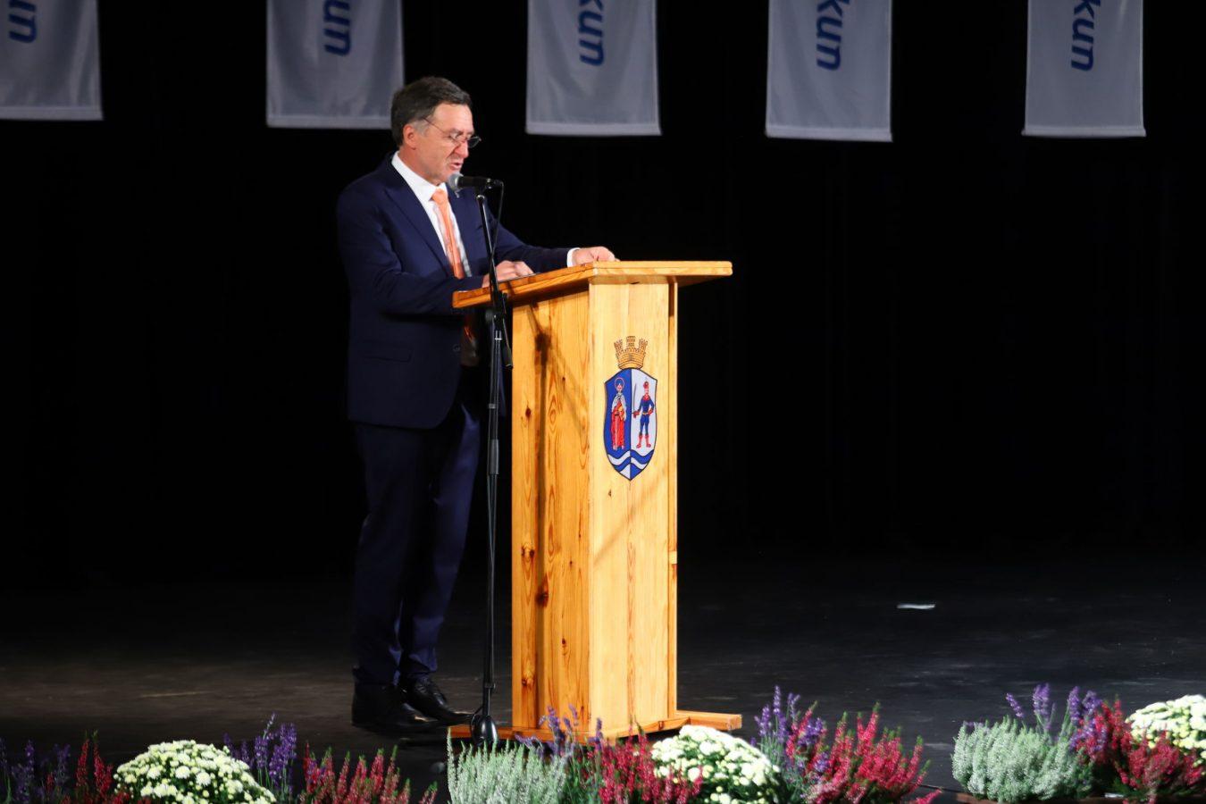 Rideg László, a Bács-Kiskun Megyei Közgyűlés elnöke